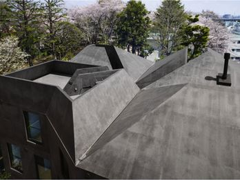 Concave and convex surfaces turn one roof into many.